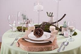 upscale earthy wedding