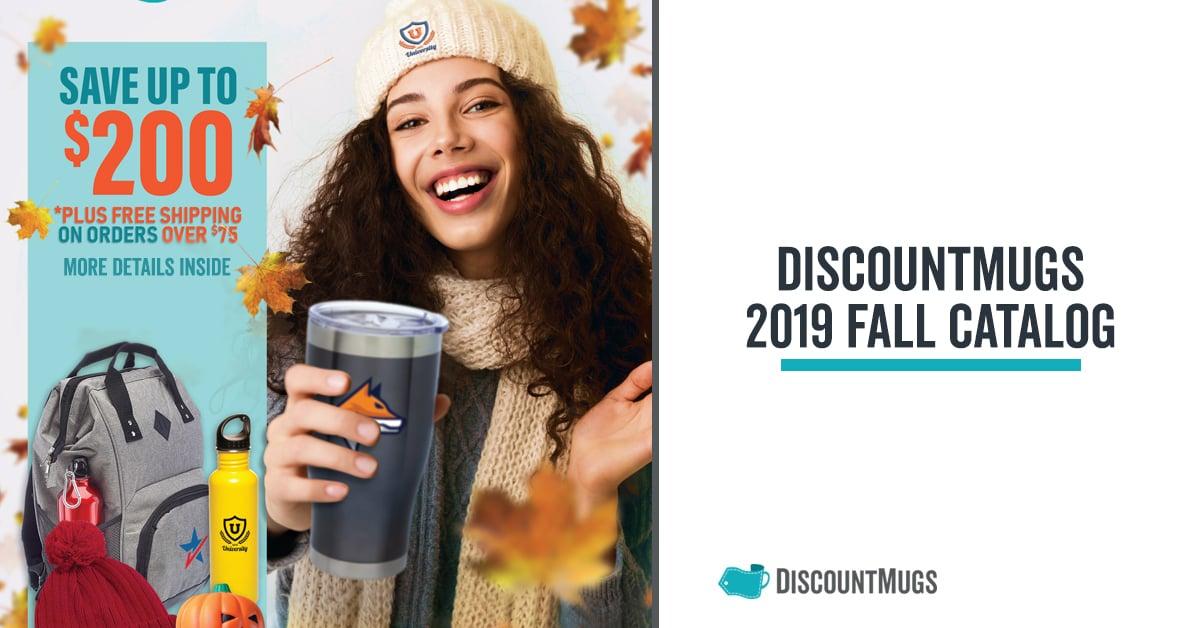 2019 DiscountMugs Downloadable Fall Catalog