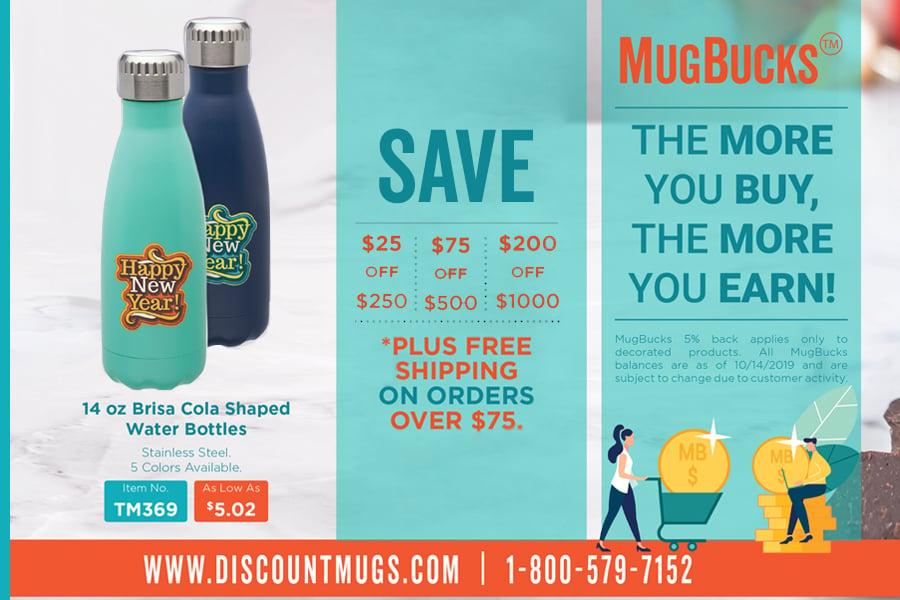 2019 DiscountMugs Holiday Catalog Savings