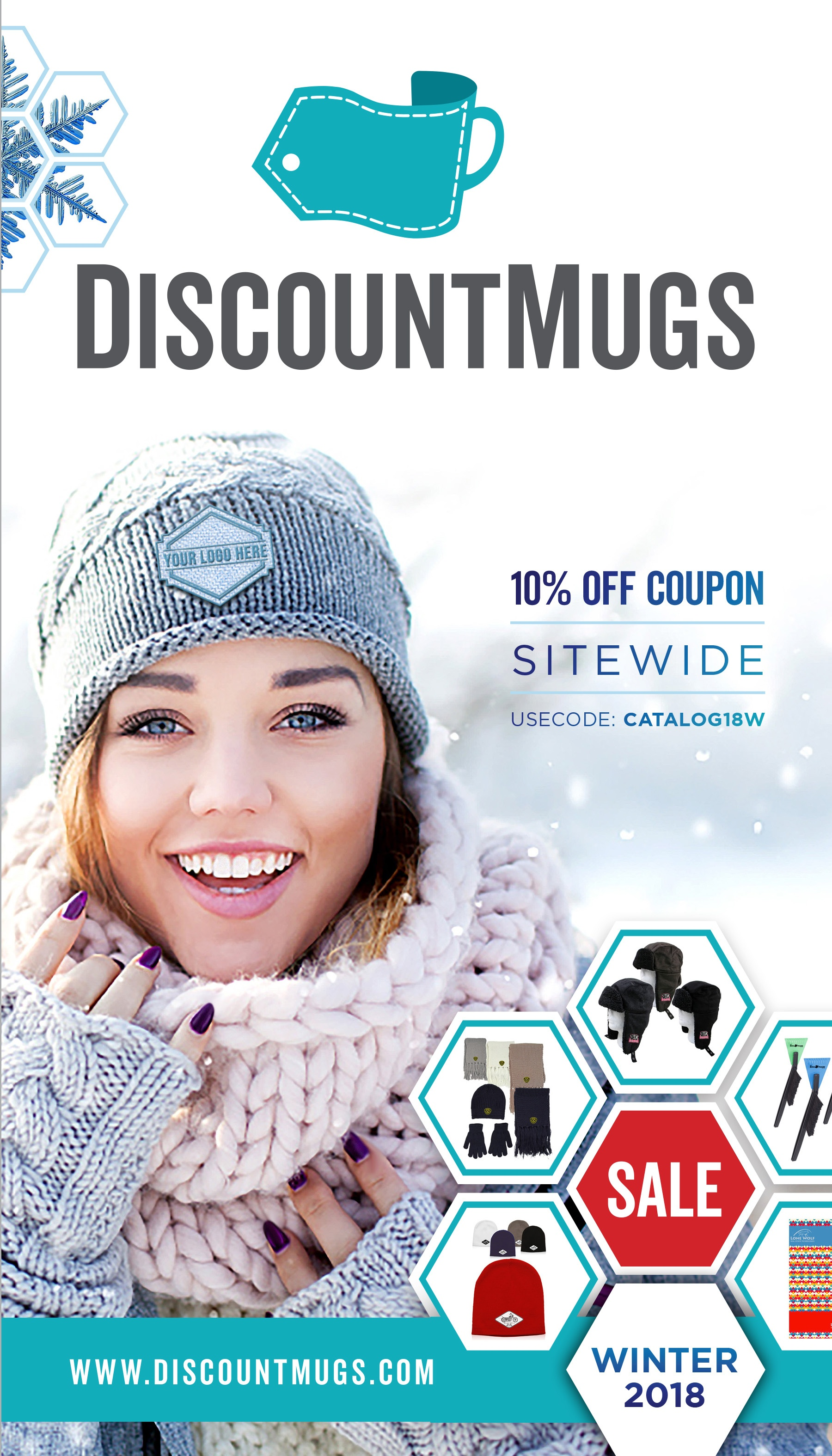 2018 DiscountMugs Winter Catalog_Cover