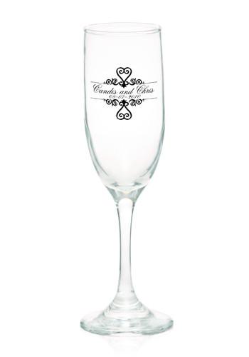 6.25 oz. Champagne Flutes