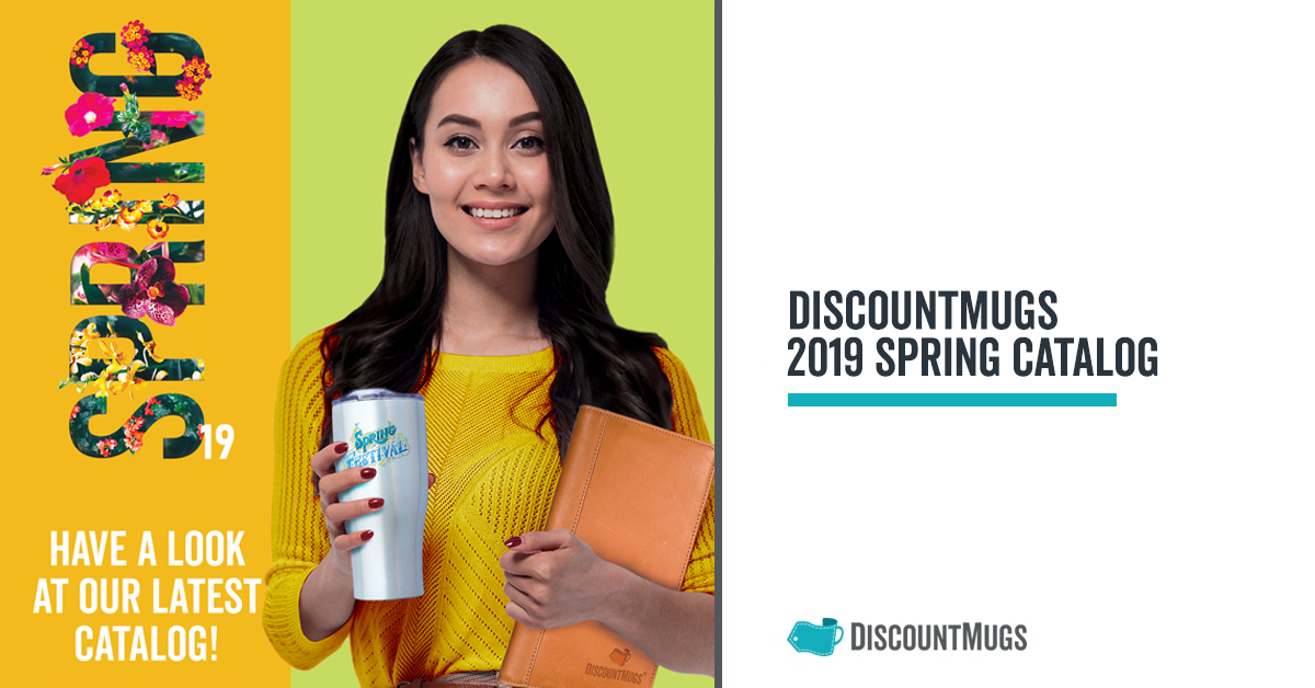 DiscountMugs 2019 Spring Catalog is Here