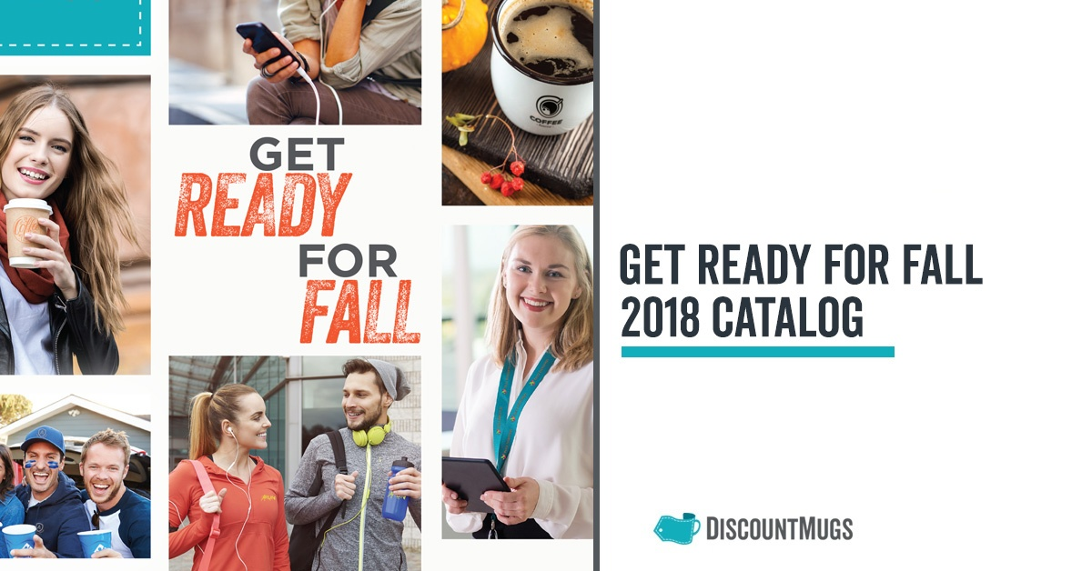 Get Ready for Fall_DiscountMugs Catalog 2018