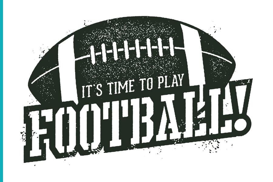 I'ts time to play football!