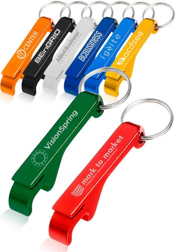 Bottle Opener Keychains, Discount Mugs