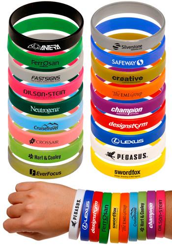 Custom Wristbands, Discount Mugs