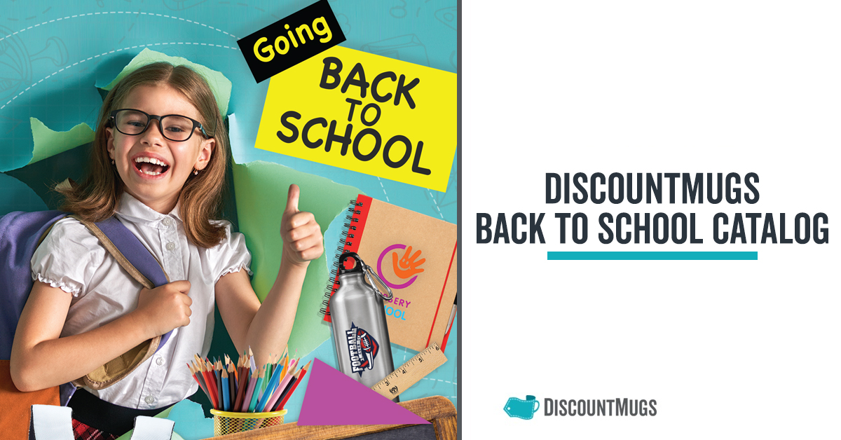 DiscountMugs 2019 Back to School Catalog