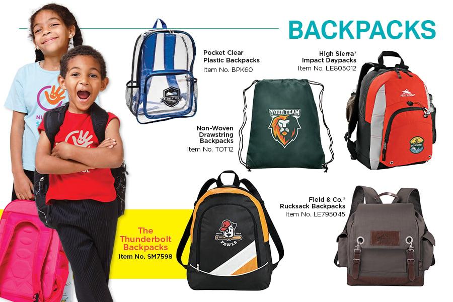 DiscountMugs 2019 Back to School Catalog_Backpacks