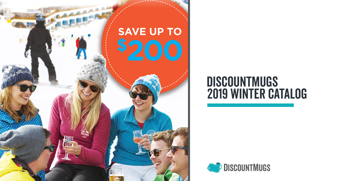 Keep Warm DiscountMugs 2019 Winter Catalog is Here