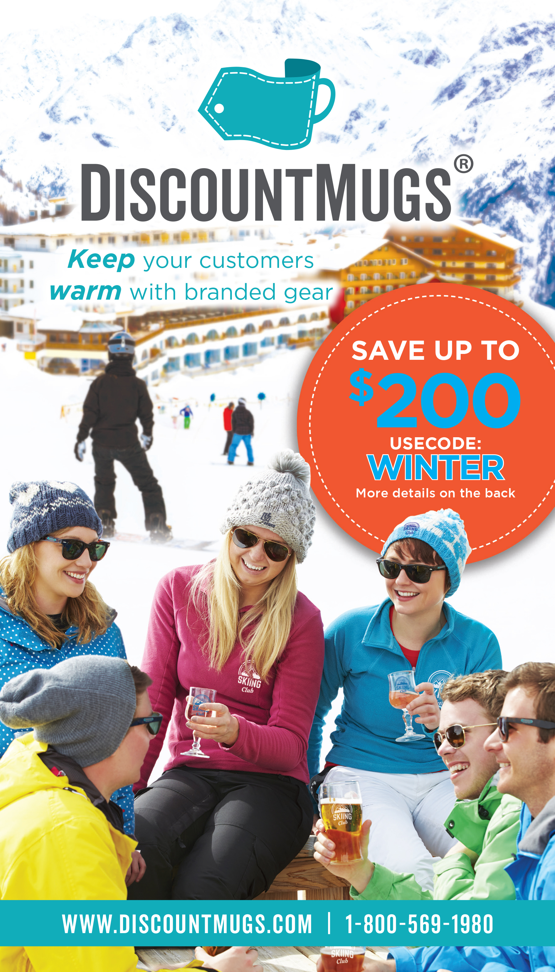 Keep Warm DiscountMugs Winter Catalog is Here