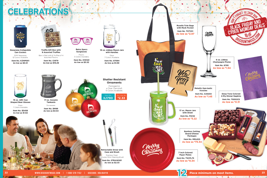 Gift Ideas for Holiday Celebrations