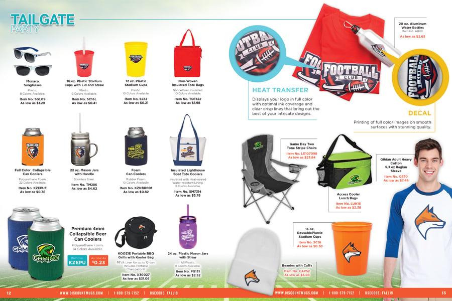 Tailgate Essentials_2019 DiscountMugs Downloadable Fall Catalog