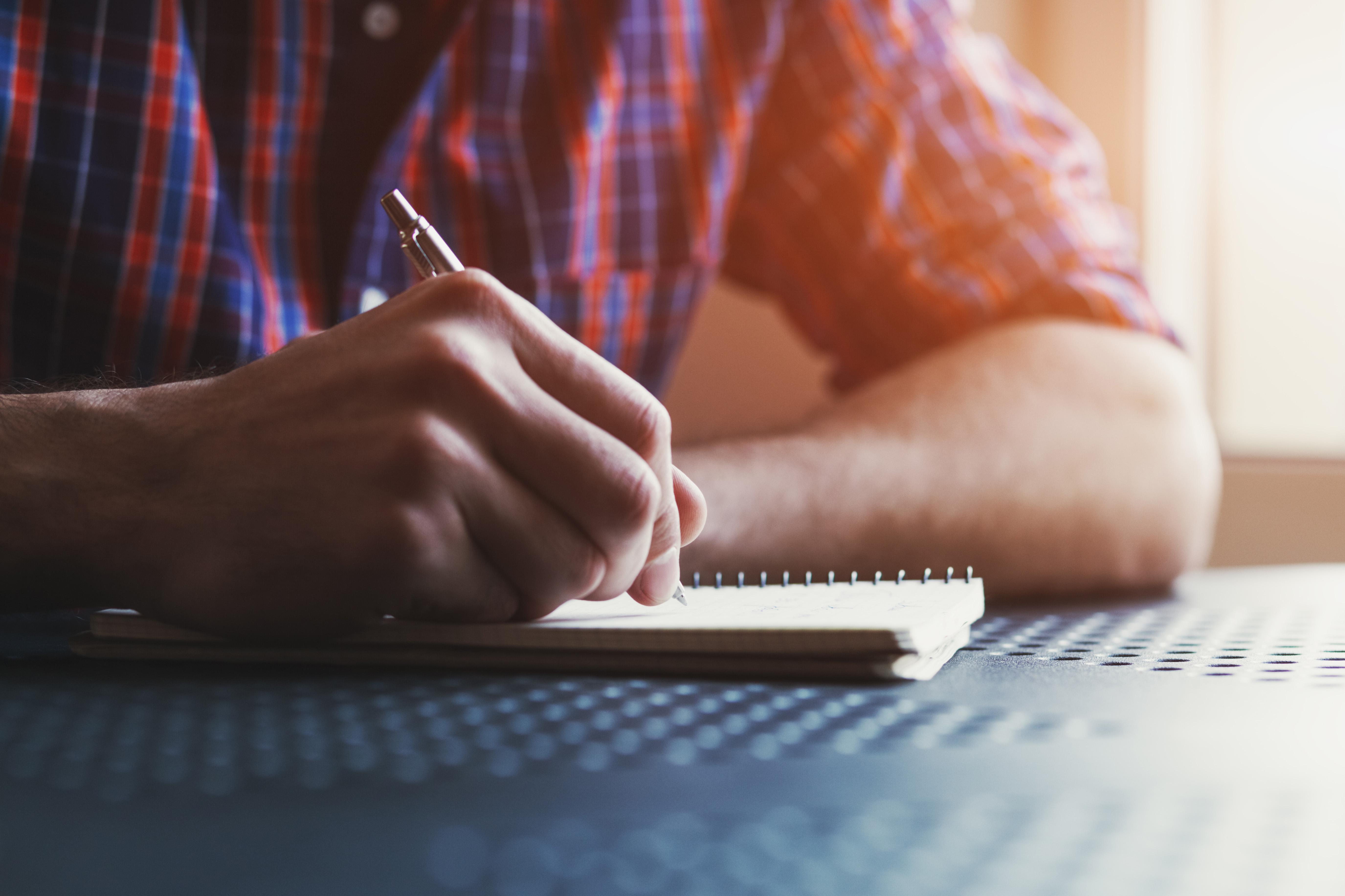 notebook idea