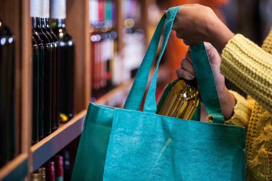 wine tote bags idea