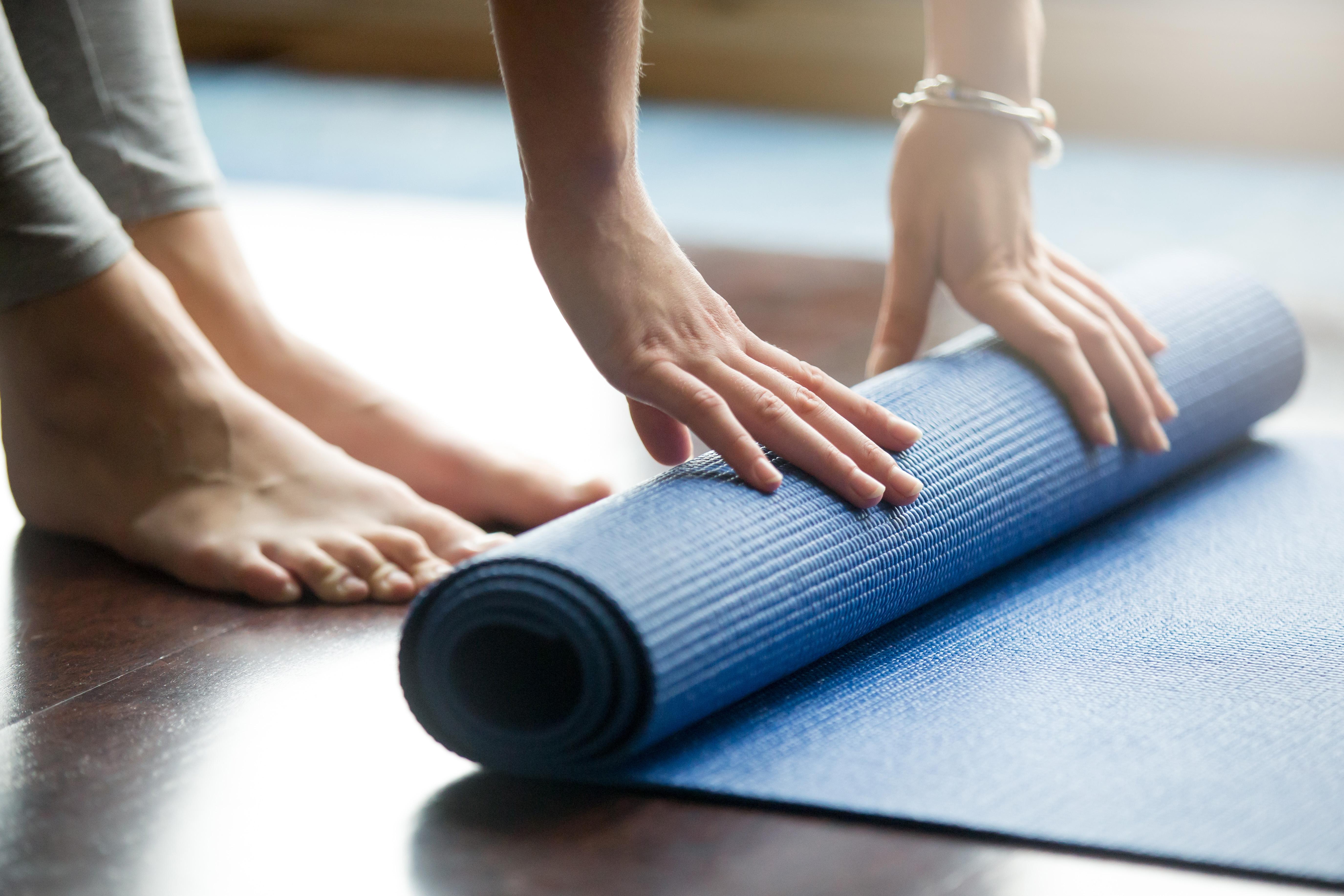 yoga mat gift idea