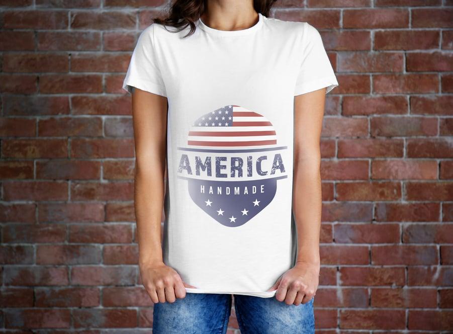 American_flag_t-shirts