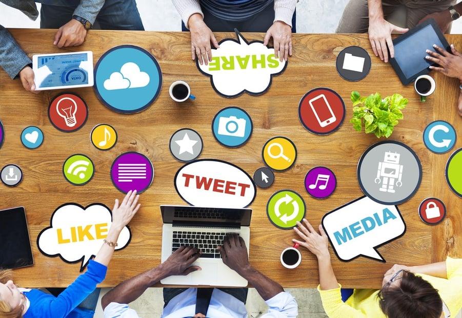 social media for churches