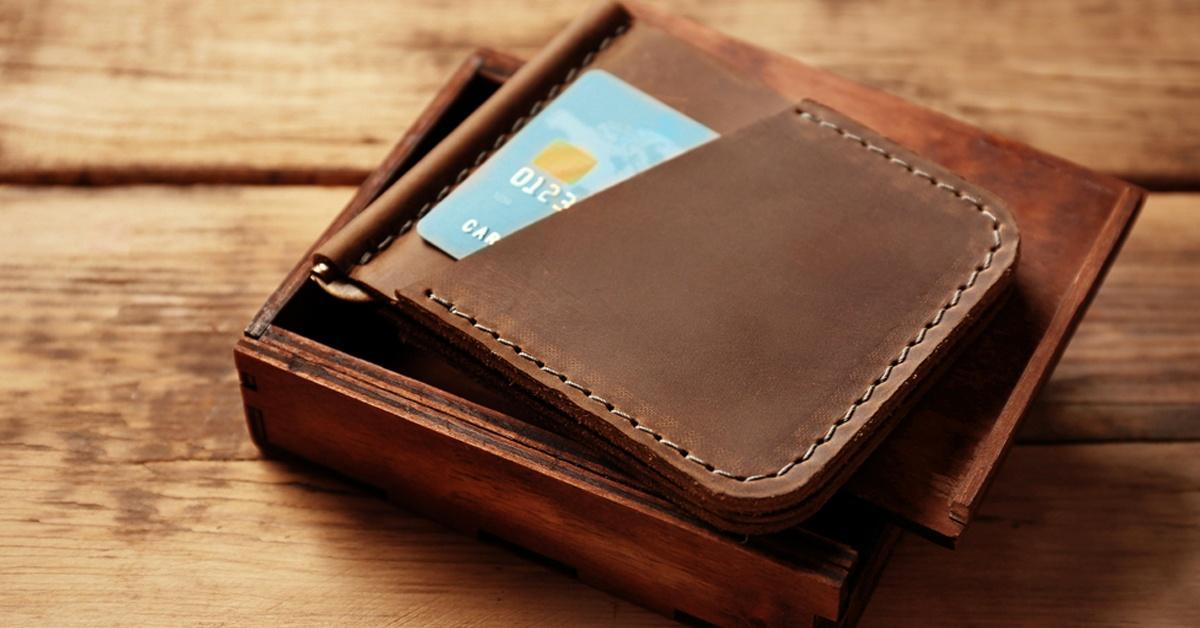 wallet or money clip idea