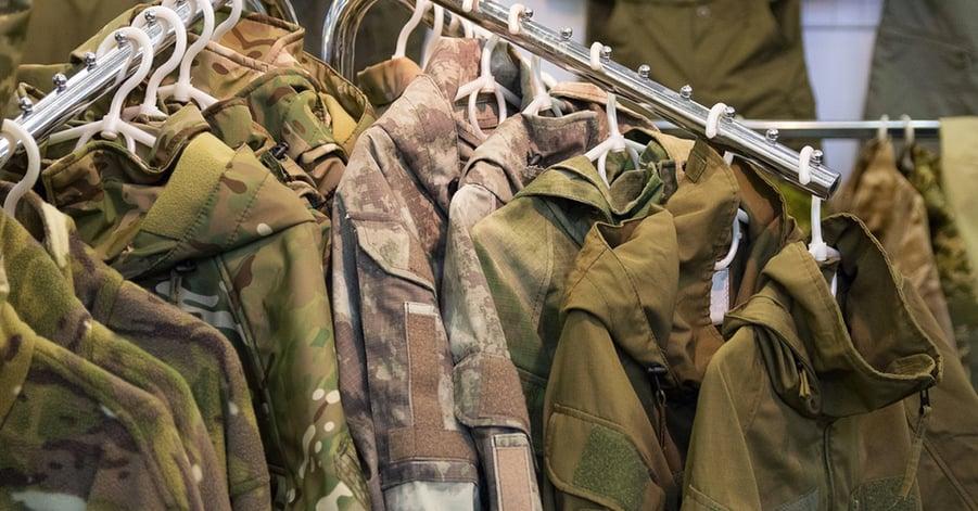 military clothing idea