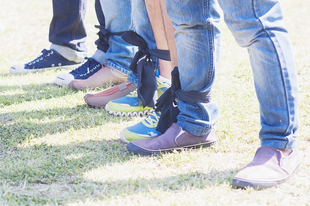 three legged race idea