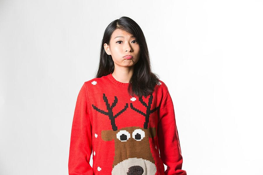 Ugly Sweater Contest Idea