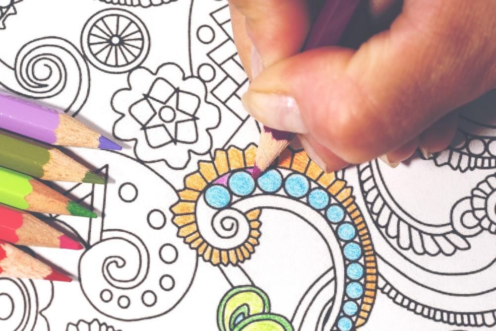 coloring table idea