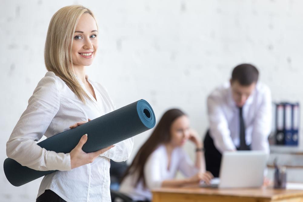 office yoga idea