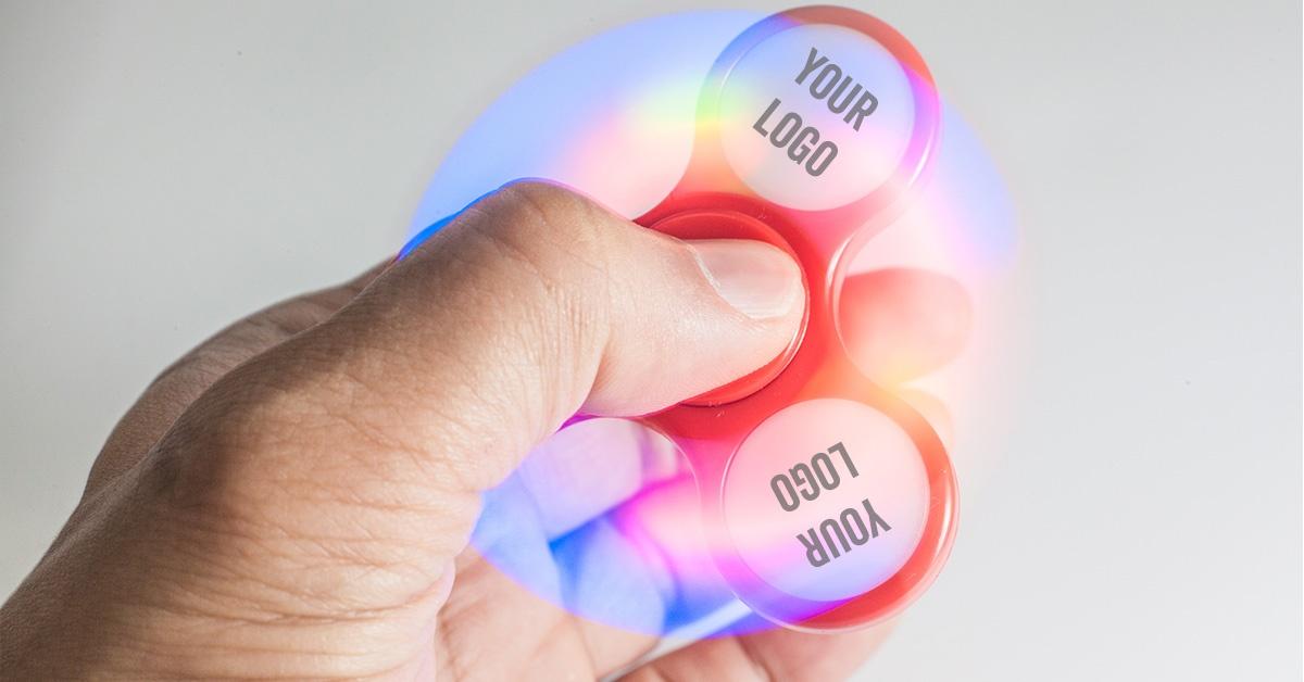 light up fidget spinners