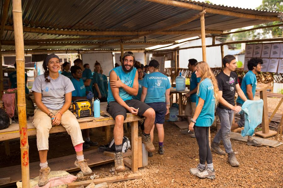 meassuring tools for volunteers idea