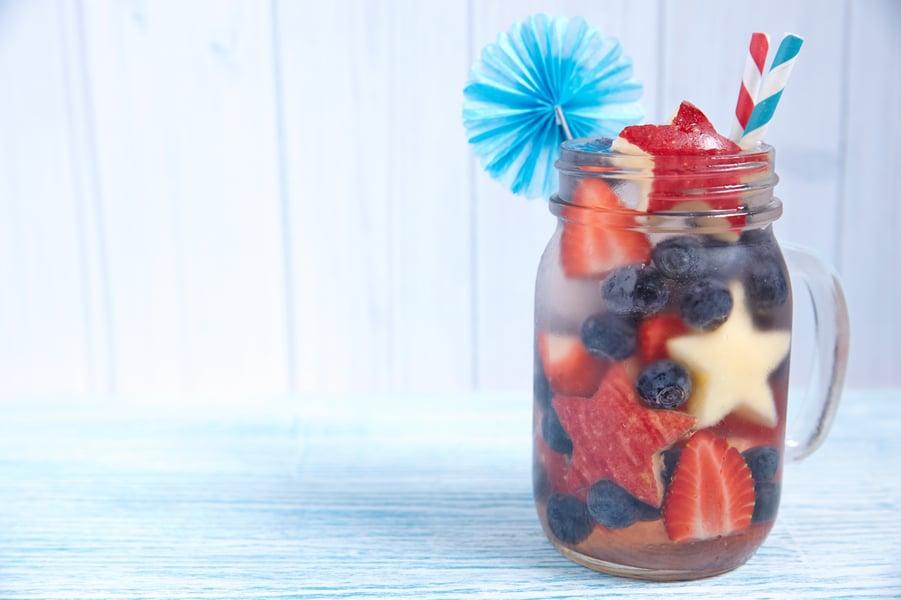 4th of july mason jar idea