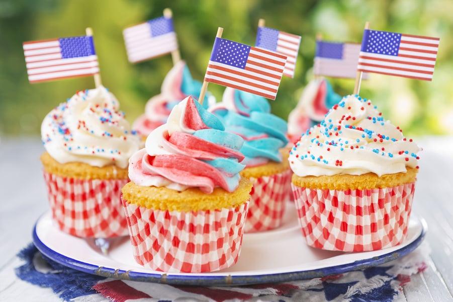 patriotic cupcakes idea
