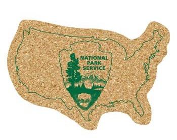 USA Shaped Cork Coasters, Discount Mugs
