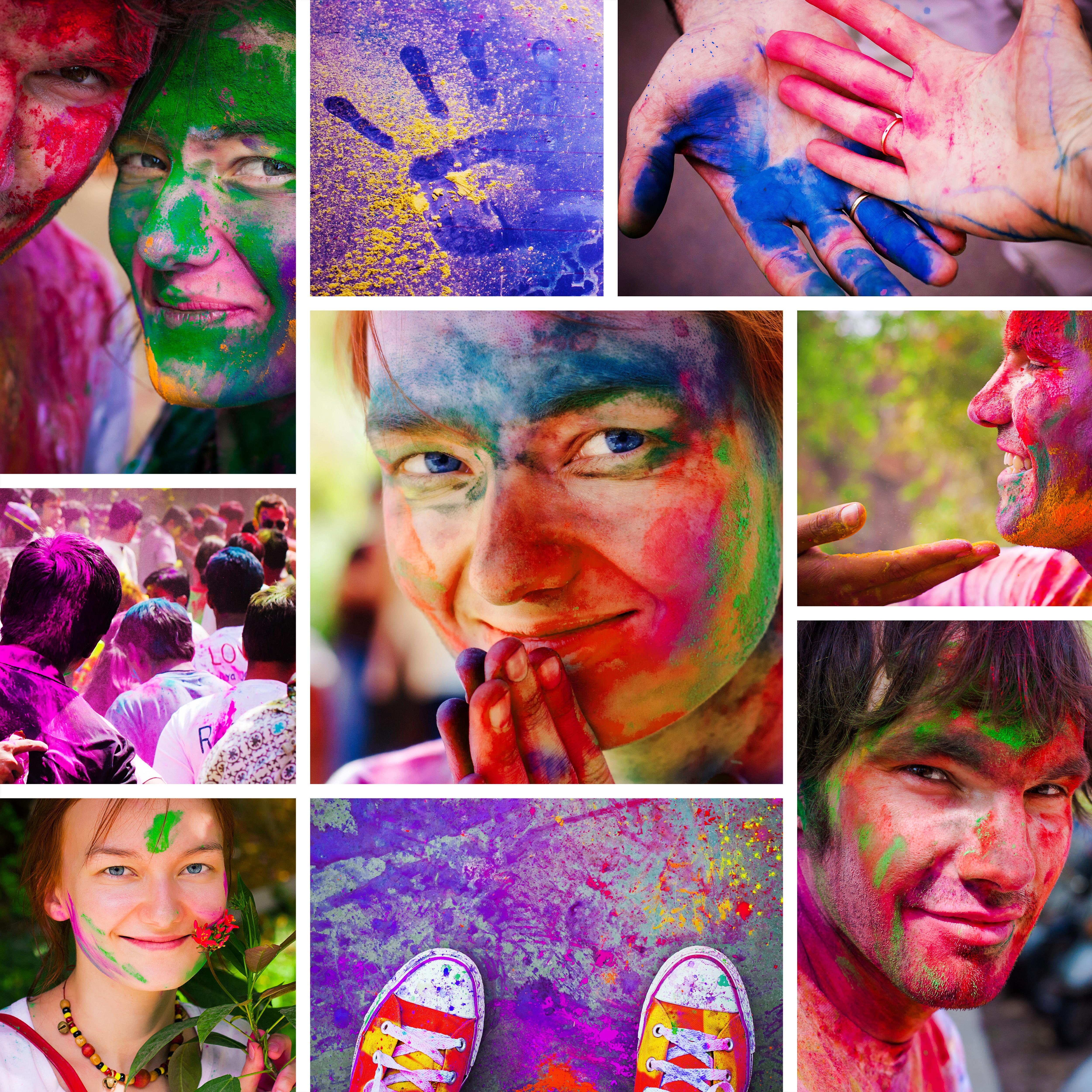 create a photo collage idea