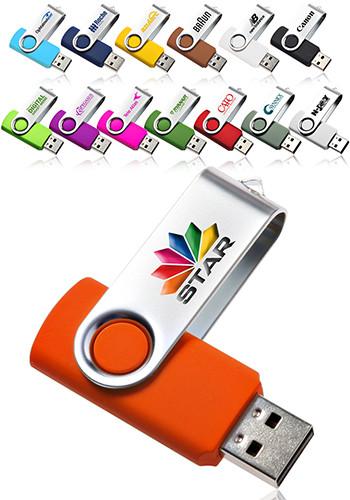 Swivel USB Flash Drive, Discount Mugs