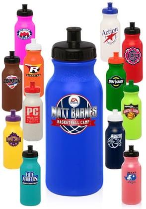 Custom Plastic Water Bottles