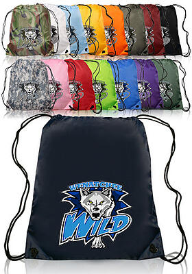 Custom Drawstring Bags, Discount Mugs