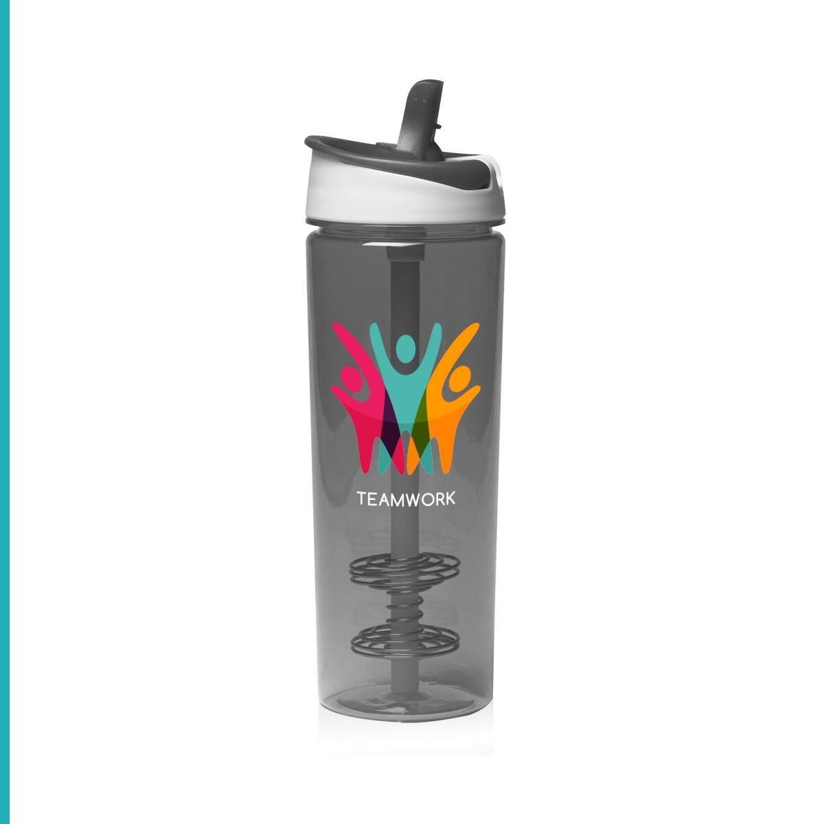 Shaker Water Bottle Hybrid