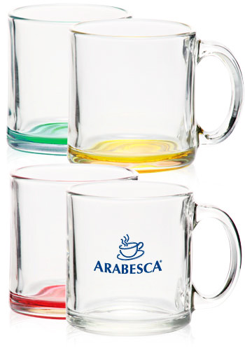 Custom Glass Mugs, Discount Mugs