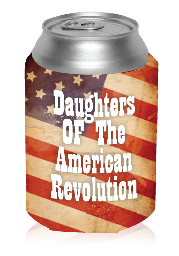 American Flag Koozie, Discount Mugs