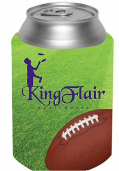 Collapsible Football Can Cooler FREE SHIPPING ON THIS ITEM OVER $75