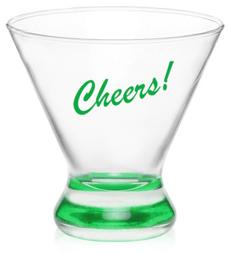 8.25 oz. Libbey Cosmopolitan Stemless Martini Glasses